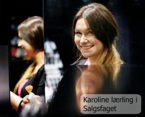 Karoline Lærling i Salgsfaget